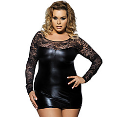 fadabac603a Women s Plus Size Sexy Babydoll   Slips   Robes Nightwear - Lace