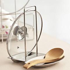 billiga Köksförvaring-Kök Organisation Ställ & Hållare Rostfritt stål Ny Design 1st