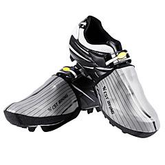 billige Sykkelsko-WEST BIKING® Voksne Vanntett / Overtrekk til sko Utendørs Trening / Sykling / Sykkel Mørkegrå / Grå Unisex Sykkelsko