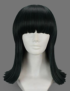 Cosplay Wigs One Piece Nico Robin Green Short Anime Cosplay Wigs 40 CM Heat Resistant Fiber Female