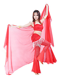 cheap Dance Accessories-Dance Accessories Stage Props Women's Performance Chiffon
