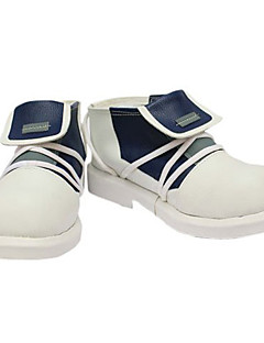 cheap Videogame Cosplay Shoes-Cosplay Shoes Inspired by Inazuma Eleven Aphrodite White Black