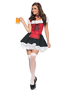 Fairytale Maid Costumes Oktoberfest/Beer Cosplay Costumes Party Costume Female Halloween Carnival Oktoberfest Festival / Holiday