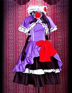 billige Videospill cosplay-cosplay kostyme inspirert av umineko: når de gråter eve.beatrice lolita kjole