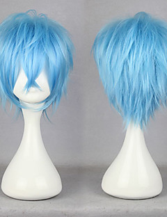 billige Anime cosplay-Cosplay Parykker KARNEVAL Cosplay Anime Cosplay-parykker 30 CM Herre Dame
