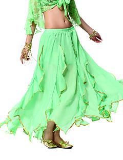 ריקוד הבטן ללבוש חצאיות נשים אימון שיפון אלגנטי השמלה הקלאסית