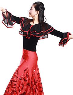 tanie Stroje balowe-Taniec balowy Topy Damskie Szkolenie Wiskoza / Taniec latynoamerykański