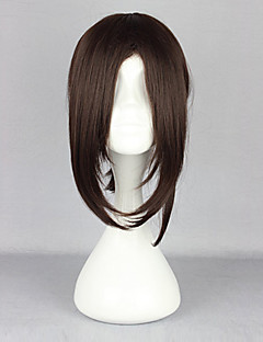 cheap Anime Cosplay Wigs-Cosplay Wigs Attack on Titan Hamaji Anime Cosplay Wigs 38 CM Heat Resistant Fiber Women's