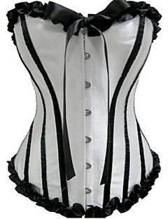 Korzet Klasická a tradiční lolita Černobílá Lolita Příslušenství Proužky Patchwork