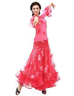 tanie Stroje balowe-Taniec balowy Stroje Damskie Szkolenie Szyfon Naturalny / Taniec nowoczesny / Wydajność