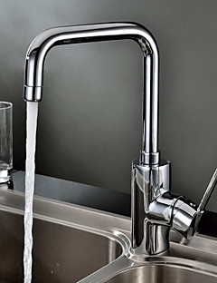 Contemporary  with  Chrome Single Handle One Hole  ,  Feature  for Centerset
