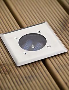 お買い得  ソーラー&LED照明-白いledステンレス鋼太陽のデッキライト(シス-57103)高品質