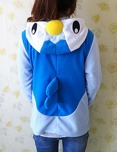 billige Kigurumi-Kigurumi-pysjamas Pingvin Onesie-pysjamas Kostume Polar Fleece Cosplay Til Voksne Pysjamas med dyremotiv Tegnefilm Halloween Festival /