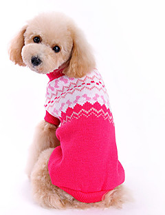 Dog Sweater Dog Clothes Cute Fashion Bowknot Rose
