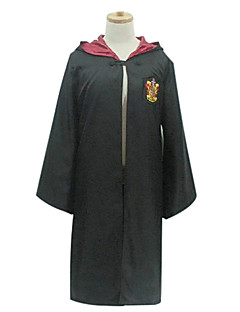 cheap Movie & TV Theme Costumes-Magic Harry Cosplay Costume Party Costume Kid's Christmas Halloween Children's Day Festival / Holiday Outfits Black Solid Colored