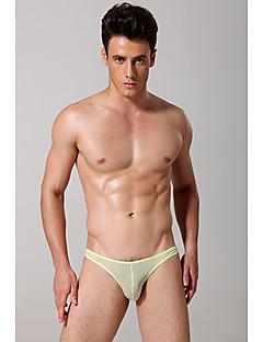 billige Herremote og klær-Herre Super Sexy Underbukse Ensfarget 1 Deler