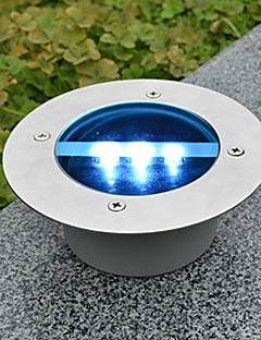 お買い得  ソーラー&LED照明-1本の屋外太陽は、地上のライトレンガランプの庭の道のドックの風景