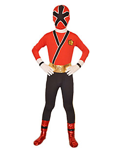 Cosplay Costume/Zentai Suit Power Super Hero Rangers Samurai Red Lycra Full Body Kids' Zentai