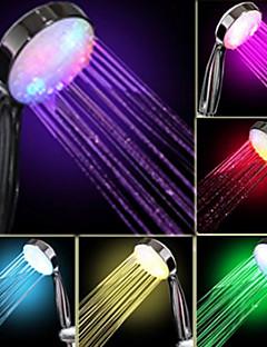 Debit de apă Power Generation Culoare treptată Schimbarea LED de mână duș