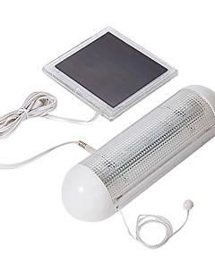 5-LED屋内屋外ソーラーパネルガーデンスイッチランプヤード光を当てる