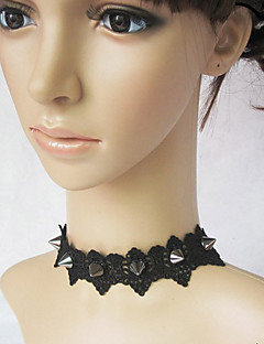 Lolita Jewelry Punk Lolita Necklace Lolita Black Lolita Accessories Necklace Lace For Lace Alloy
