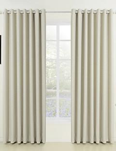 billige Egendefinerte gardiner-Skreddersydd Værelses Bemørkning gardiner gardiner To paneler 2*(W107cm×L245cm) / Mønsterpreget / Stue
