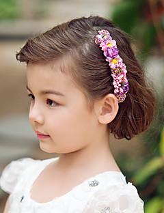 可愛い造花♥ウェディング♥フラワーティアラ