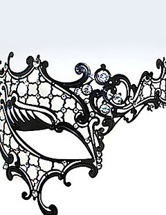 Maske Unisex Festival / Tatil Cadılar Bayramı Kostümleri Siyah Cadılar Bayramı Karnaval