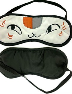 billige Anime cosplay-Maske Inspirert av Natsume Yuujinchou Katt Anime Cosplay-tilbehør Maske Polar Fleece Herre