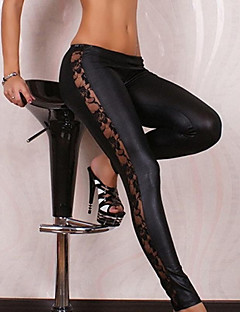 Women's PU Legging,Patchwork This product runs small. Please add two sizes to your normal size when choosing.
