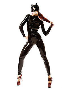 Uniforme Costume Cosplay Halloween Carnaval Festival/Sărbătoare Costume de Halloween Negru Peteci