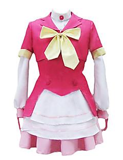 """billige Anime Kostymer-Inspirert av Akb0056 Cosplay Anime  """"Cosplay-kostymer"""" Cosplay Klær / Kjoler / Cosplay Topper / Underdele Lapper Frakk / Topp / Skjørte Til Herre / Dame Halloween-kostymer"""
