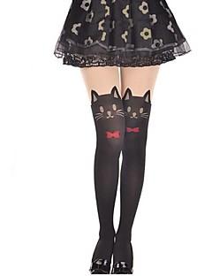 billige Sokker og strømper til damer-kvinners sokker& strømpebukse øyne av katt strømpebukse strømper