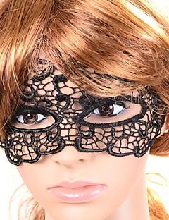 billige Halloweenkostymer-Karneval Maske Herre Dame Halloween Festival / høytid Halloween-kostymer Ensfarget Blonder