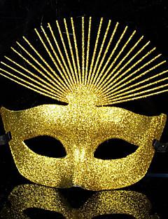 baratos Máscaras-Carnaval Máscara Unisexo Dia Das Bruxas Carnaval Ano Novo Festival / Celebração Trajes da Noite das Bruxas Roupa Sólido