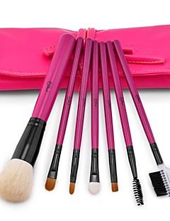 abordables -7pcs Professionnel Pinceaux à maquillage ensembles de brosses Autre Pinceau / Pinceau en Poils de Chèvre / Autres 1 * Brosse à paupières
