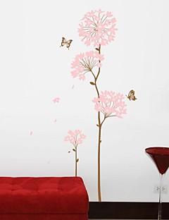 olcso Csendélet fali matricák-Csendélet Divat Alakzatok Virágok Régies (Vintage) Botanikus Falimatrica Repülőgép matricák Dekoratív falmatricák, Vinil lakberendezési