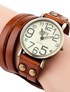Women's Vintage Style Long Strap Leather Band Quartz Analog Bracelet Watch (Assorted Colors) Cool Watches Unique Watches Fashion Watch