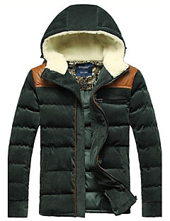 billige Lagersalg-Men's Hooded Coat Jacket