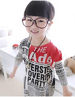 Print Tee,Cotton Winter Spring Fall Long Sleeve Screen Color