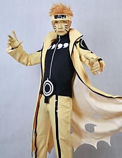 """billige Anime cosplay-Inspirert av Naruto Cosplay Anime  """"Cosplay-kostymer"""" Cosplay Klær Lapper Langermet Frakk Bukser Til Herre"""