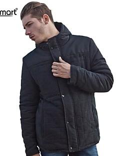 lesmart® menns mote sy tykk varm pels jakke