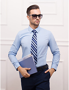 cheap Shirts-Men's Stylish Classical Basic Slim Fit Shirt-Solid Colored