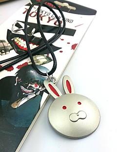 billige Videospill cosplay-Smykker Inspirert av Tokyo Ghoul Cosplay Anime Cosplay-tilbehør Halskjeder Legering Herre ny Halloween-kostymer
