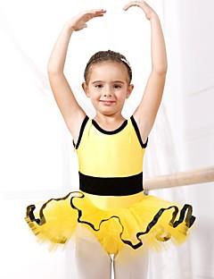 tanie Dziecięca odzież do tańca-Balet Suknie Spandeks Tiul Z krótkim rękawem