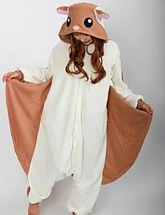 Kigurumi Pyjamas Ekorn Mus Kostume Brun Polar Fleece Kigurumi Trikot / Heldraktskostymer Cosplay Festival / høytid Pysjamas med dyremotiv