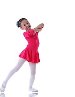 billige Danseklær til barn-Danseklær til barn / Ballet Kjoler Trening Bomull Langermet Naturlig Prinsesse / Ballett