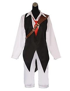 """billige Anime Kostymer-Inspirert av The Seven Deadly Sins Cosplay Anime  """"Cosplay-kostymer"""" Cosplay Klær Lapper Langermet Vest Trøye Bukser Slips Til Herre"""