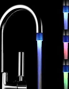 Changing Color Battery-Free  Water Powered Kitchen Colorful LED Faucet Light
