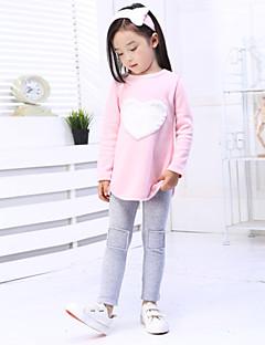 billige Tøjsæt til piger-Børn Baby Pige Trykt mønster Langærmet Lang Bomuld Tøjsæt